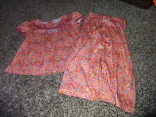 BITTY BABY AMERICAN GIRL S 3 FLORAL PJS PAJAMAS  HEART PAISLEY
