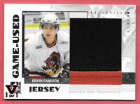 2015-16 Bryan Cameron ITG Final Vault 2007-08 Heroes & Prospects 1/1 - Flames