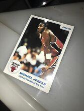 Michael Jordan 85 Star Rookie Of The Year Card