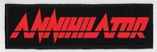 ANNIHILATOR SUPERSTRIP PATCH / SPEED-THRASH-BLACK-DEATH METAL