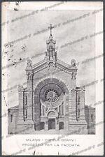 MILANO CITTÀ 230 PROGETTO CORPUS DOMINI Cartolina viaggiata 1929