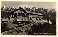 WANKHAUS b. Garmisch-Partenkirchen Bayern Alpen ~1935 mit lila Verkaufsstempel