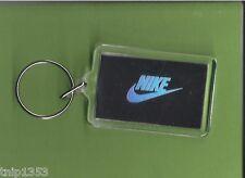New Black/Chrome Nike Key Chain 1/14 inches x 2 inches