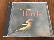 Singing Birds: Natures Relaxing Sounds [Enhanced with Music] (CD, 1996) NEW