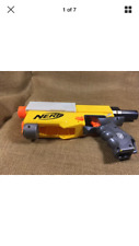 Used Nerf N-Strike Yellow Recon CS-6 Blaster Gun