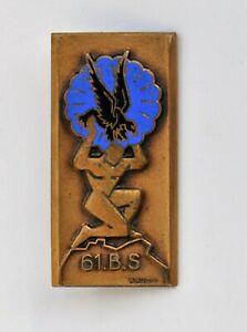 Parachutistes 61° B.S. Bataillon de Services, augis