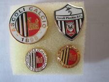 lotto 4 pins lot ASCOLI CALCIO FC club spilla football futbol pins spille