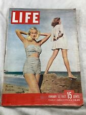 Life Magazine January 13,1947 Resort Fashions VINTAGE ADS  The New Congress