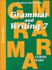Saxon Grammar & Writing Grade 7 Student Workbook 7th 2nd 2014 Edition