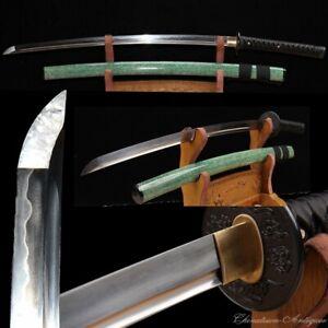 Japanese Samurai Sword Katana Sword High Carbon Steel Blade Clay Tempered #1437