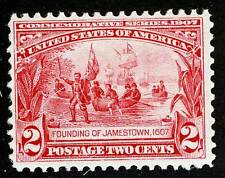 US Sc 329 MNH Original Gum Well Centered for Issue