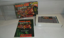 Super Nintendo Game The Original DONKEY KONG COUNTRY! Complete CIB SNES Fun! 1