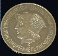 1950 Germany Commemorative Gold Medal European Union Bank 10 Dukaten