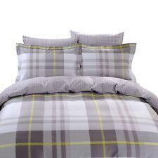Queen Duvet Cover Bedding Set, 6 PC & Fitted Sheet 100% Cotton Dolce Mela DM638Q