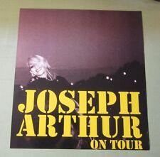 Joseph Arthur On Tour Promo Poster