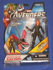 "Marvel Universe Avengers Black Widow Action Figure 2011 Hasbro 4"" MOC Movie 1/18"