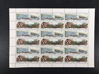 Russland ZD-Bogen MiNr. 422-25 postfrisch MNH Naturschutz (BW8171