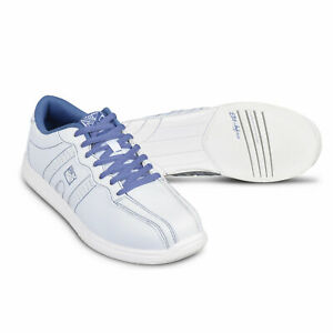 Women's Bowling Shoes Kr Strikeforce O. P. P.White Periwinkle Left And Right