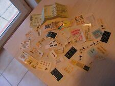 lot divers  autocollants  stickers  anciens   pour voitures    1/43  (f)