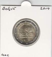 België 2 euro 2014 UNC : Herdenking 1ste Wereldoorlog