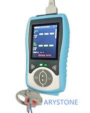 Neonate/infant  SPO2+PR+TEMP, handheld pulse oximeter, compatible Nellcor sensor