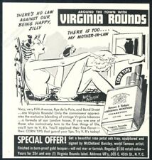 1938 Russell Patterson woman in bathtub pinup art Virginia Rounds print ad