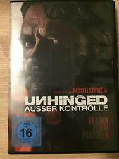 DVD Unhinged Ausser Kontrolle (2020), FSK 16