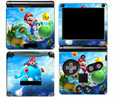 Super Mario 114 Vinyl Decal Skin Cover Sticker for Game Boy Advance GBA SP