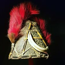 Genuine Old Nagaland Ceremonial Headdress. Asian Tribal Art