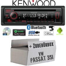 Kenwood Autoradio für VW Passat 3A + 35i Bluetooth Spotify CD/MP3/USB Einbauset