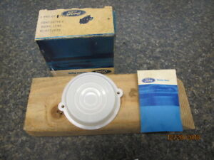 1960-1965 Ford Falcon Comet NOS Interior Dome Light Lens Brand New FoMoCo