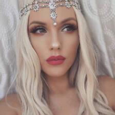 Hair Jewelry Head Chain Piece Flower Pearl Bridal Birthday Holiday Boho hair