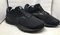 Women's Brooks Adrenaline GTS 19 Running Shoes Black/Black Size 8 Medium