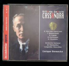 Vittorio Gnecchi CASSANDRA - 2 cds and a book, from Agora Musica
