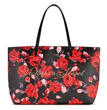 Victoria's Secret Black Friday 2019 Large Tote Bag Handbag Red Floral Rose