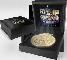 West Coast Eagles 2018 Premiership Official AFL Medallion in Black LED Box