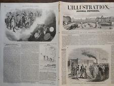 L' ILLUSTRATION 1852 N 483 ARRIVEE DE L EMPEREUR ALEXANDE II DE RUSSIE A VIENNE