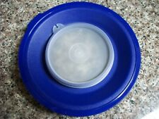 """TUPPERWARE MIX N STORE REPLACEMENT SEAL LID  1628D/733""""H"""" BLUE 4 BATTER BOWL"""