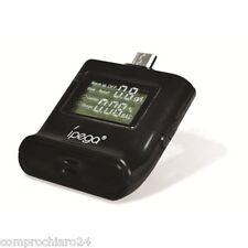 Alcohol Tester Nero  Universale per Smartphone con Attacco Micro USB