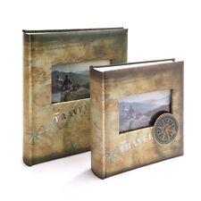 "Kenro Compass Travel Holiday Photograph Memo Album for 200 Photos 6x4"" and 7x5"""