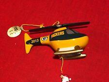 Danbury Mint Green Bay Packer 2013 Christmas Ornament