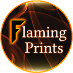Flaming Prints
