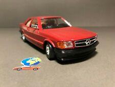 Bburago Mercedes 500 sec, automodello scala 1:24 - 1:25, vintage
