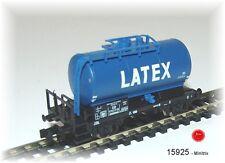 15925 MINITRIX - TRIX club-jubiläumswagen Wagon-citernes 2achs. bleu ´DAMMAN & L