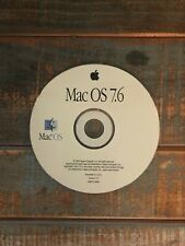 Mac OS 7.6 Install Disc - Vintage 1997