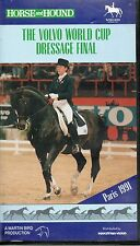 HORSE & HOUND THE VOLVO WORLD CUP DRESSAGE FINAL PARIS 1991 VHS VIDEO