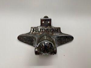 Vintage RARE 1939 Hudson 6 Model 112 Decklid Trim License Plate Light Trim