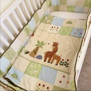 Lambs & Ivy Baby safari jungle animals crib set