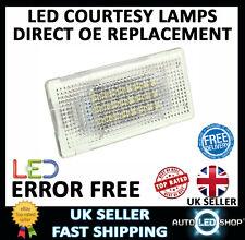 Bmw Serie 5 E60 Blanco Smd Led Bota De Tronco de la guantera mejorar las unidades de bombillas de luz