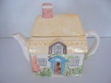 Cottage House Pastel Teapot